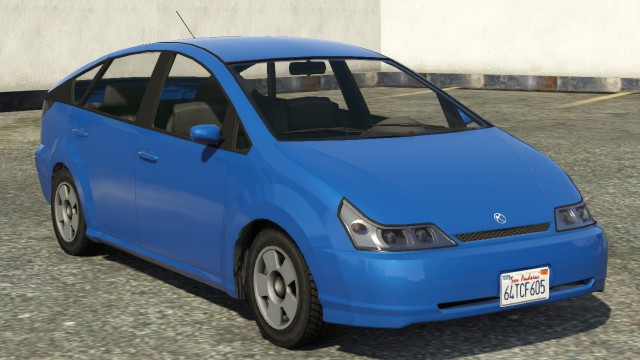 Karin Dilettante GTA 5 Front View