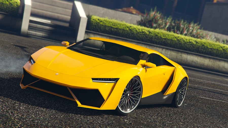 Pegassi Reaper GTA 5 Online Further Adventures in Finance and Felony Front View