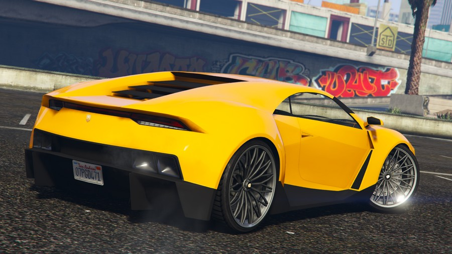 Pegassi Reaper GTA 5 Online Further Adventures in Finance and Felony Rear View