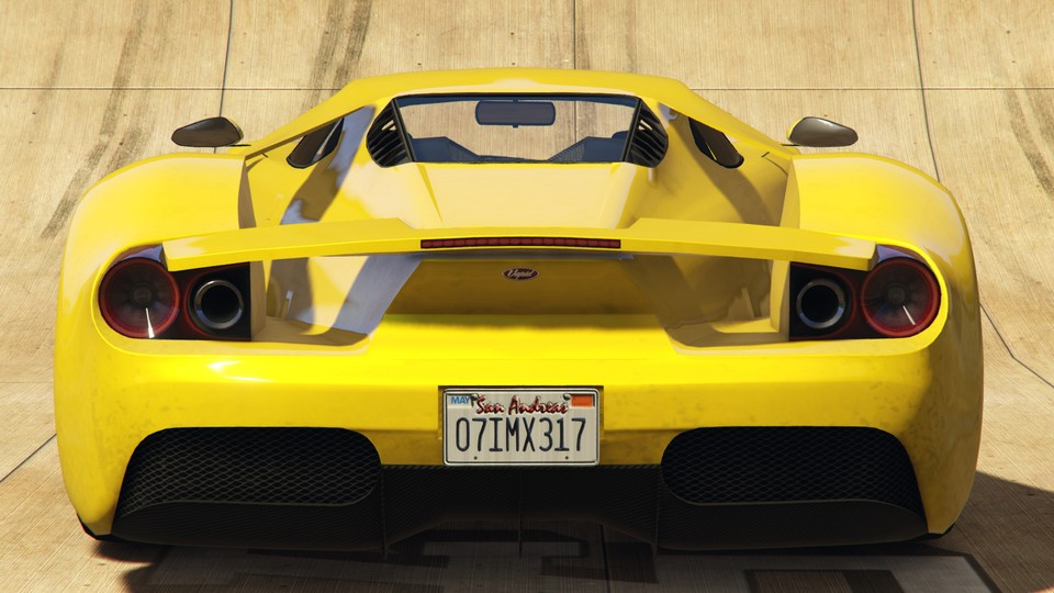 Vapid FMJ GTA 5 Online Rear View