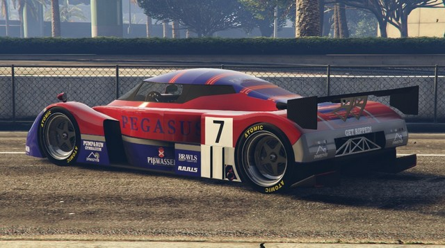 Annis RE-7B GTA Online Rear Quarter View