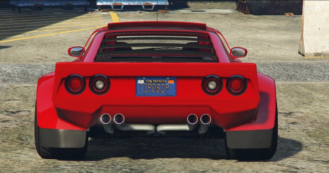 Lampadati Tropos Rallye GTA 5 Rear View
