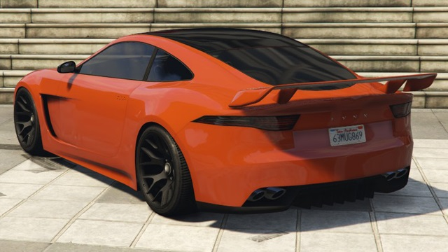 Ocelot Lynx GTA 5 Online Rear View