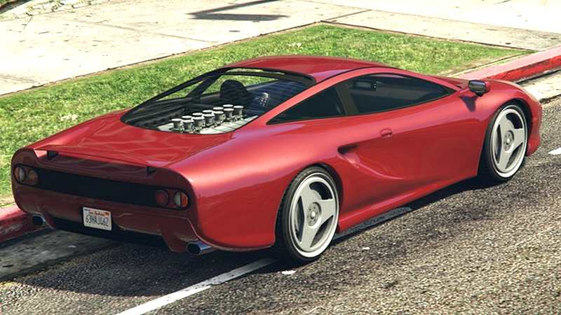 Ocelot Penetrator GTA 5 Rear View